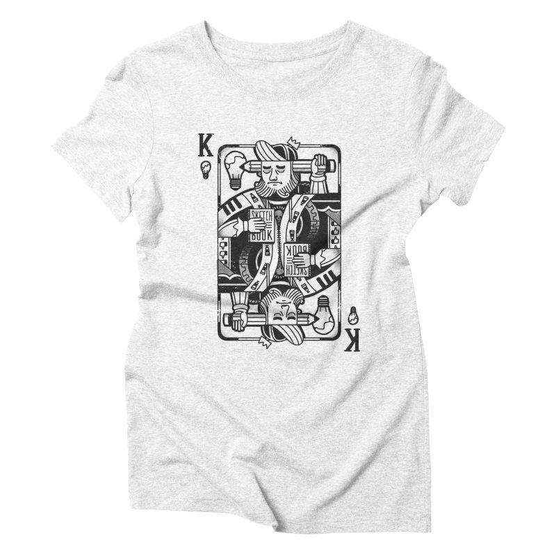 Artists Block Women's Triblend T-shirt by Mathijs Vissers