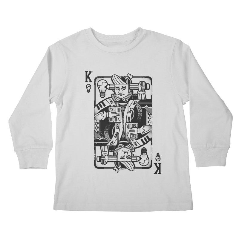 Artists Block Kids Longsleeve T-Shirt by Mathijs Vissers