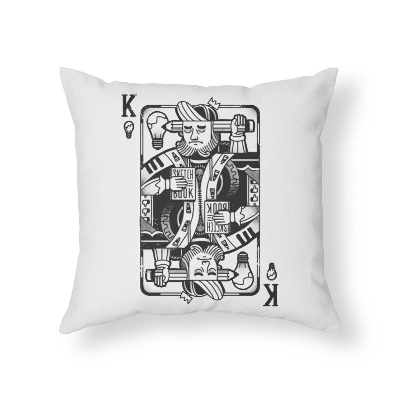Artists Block Home Throw Pillow by Mathijs Vissers