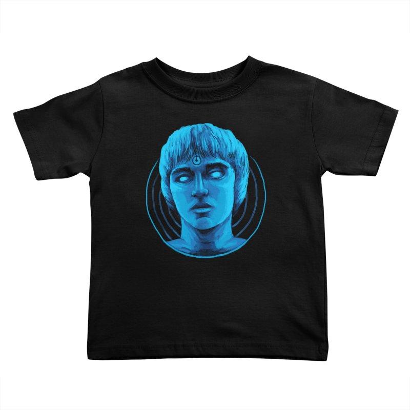 Dr. Branhattan Kids Toddler T-Shirt by Mathijs Vissers