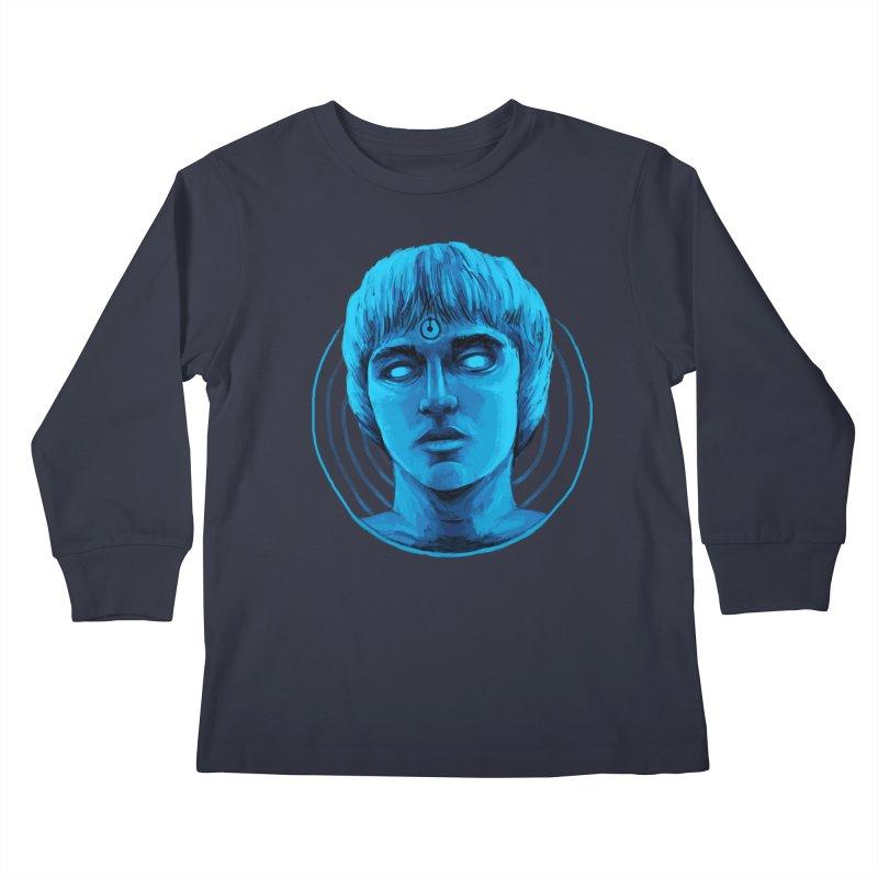 Dr. Branhattan Kids Longsleeve T-Shirt by Mathijs Vissers