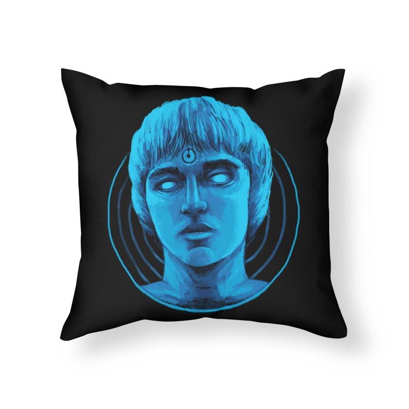 Dr. Branhattan Home Throw Pillow by Mathijs Vissers