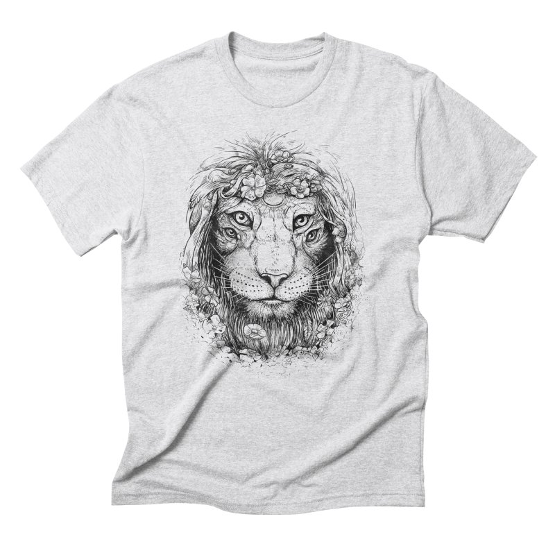 King of Nature Men's Triblend T-shirt by Mathijs Vissers