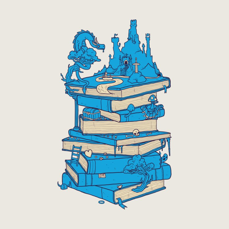 The Magic of Books by Mathijs Vissers