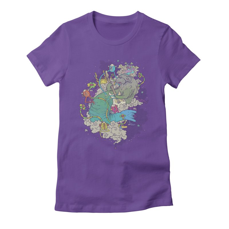 Trip of a Lifetime Women's Fitted T-Shirt by Mathijs Vissers