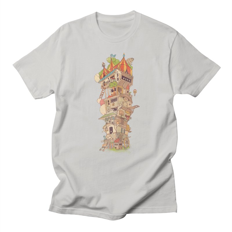Traveling Circus Men's T-shirt by Mathijs Vissers