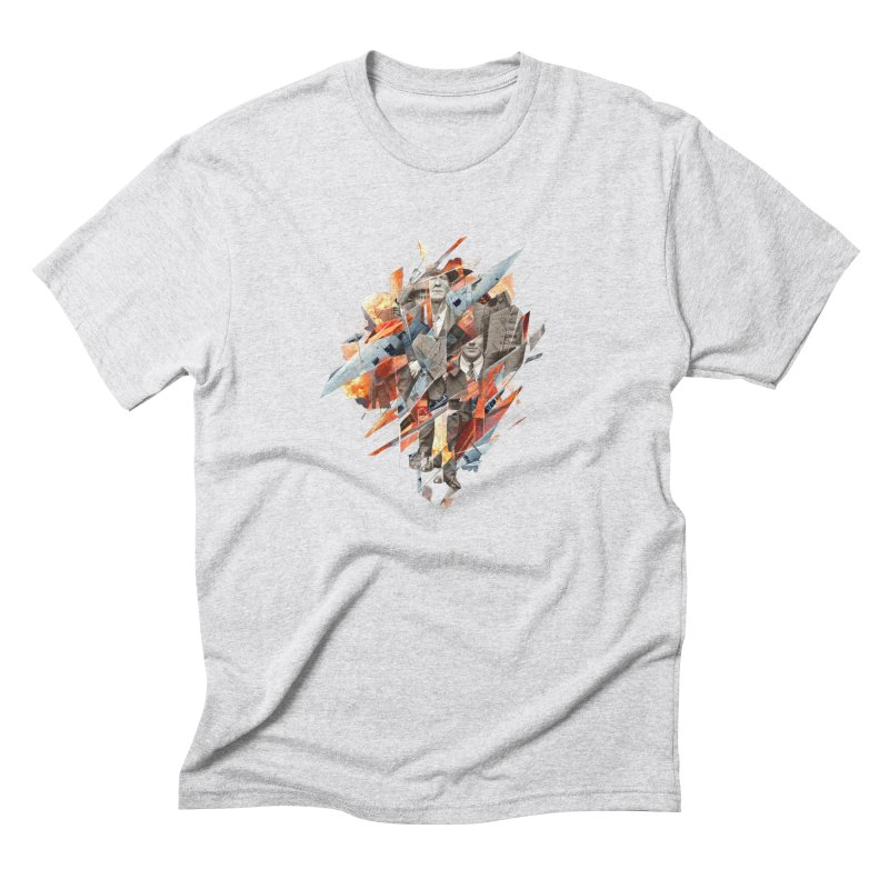 Builders Downfall Men's Triblend T-shirt by Mathijs Vissers