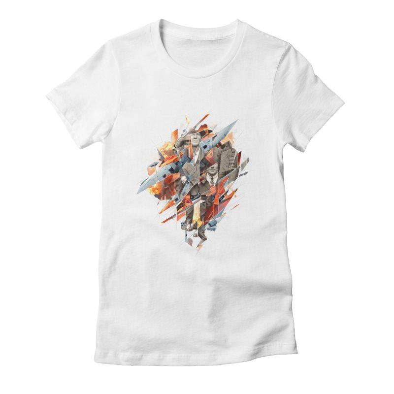 Builders Downfall Women's Fitted T-Shirt by Mathijs Vissers