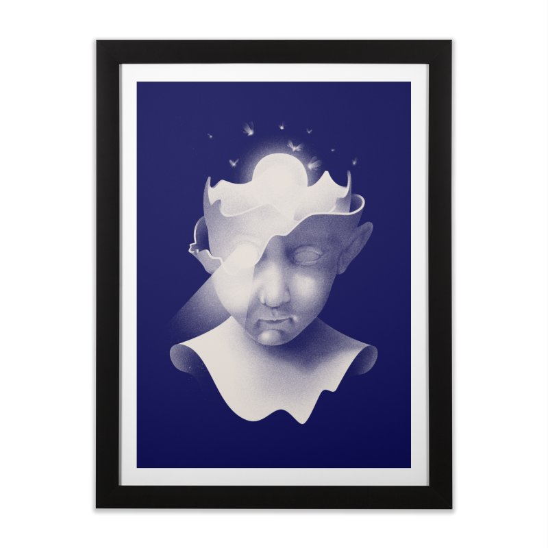Insight Home Framed Fine Art Print by mathiole