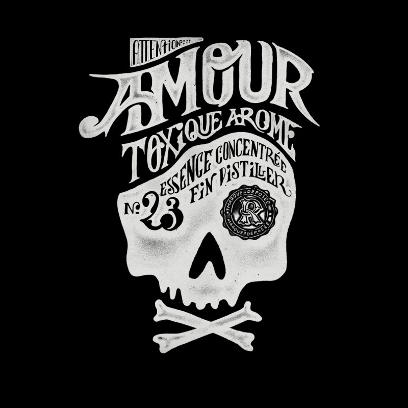 Amour Men's T-shirt by mathiole