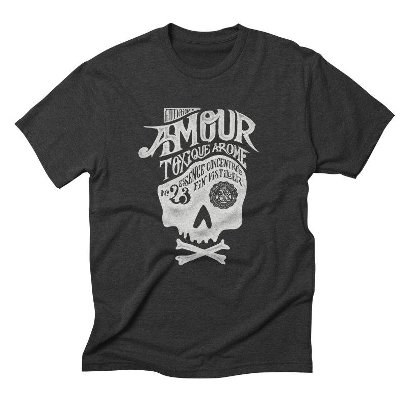 Amour Men's Triblend T-Shirt by mathiole