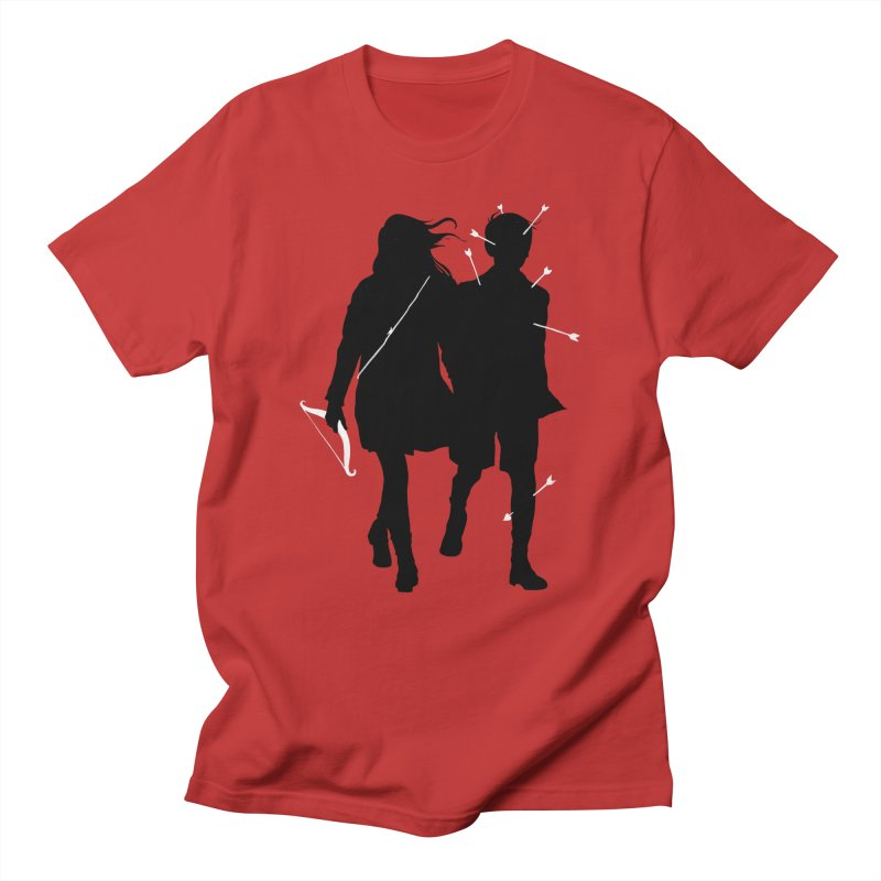 Dangerous Game in Men's T-Shirt Red by mathiole