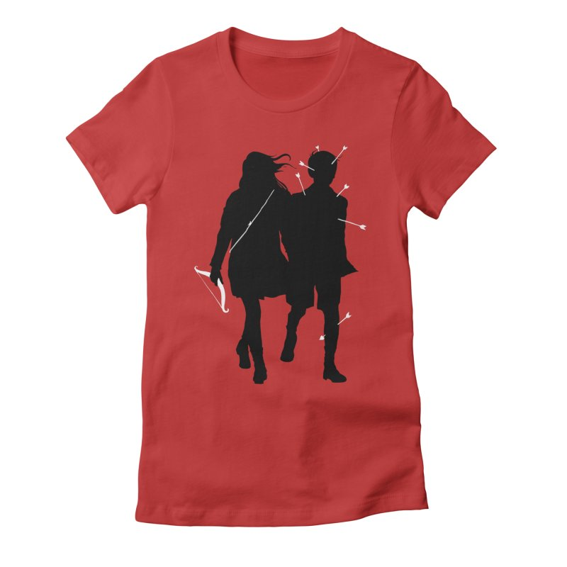 Dangerous Game Women's Fitted T-Shirt by mathiole