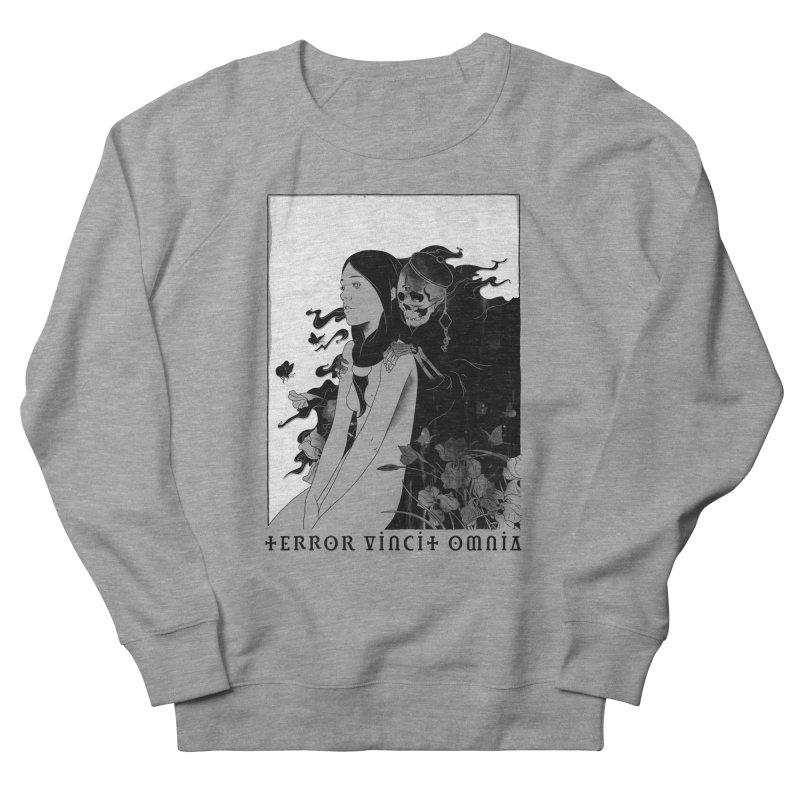Terror Vincit Omnia Men's Sweatshirt by mathiole