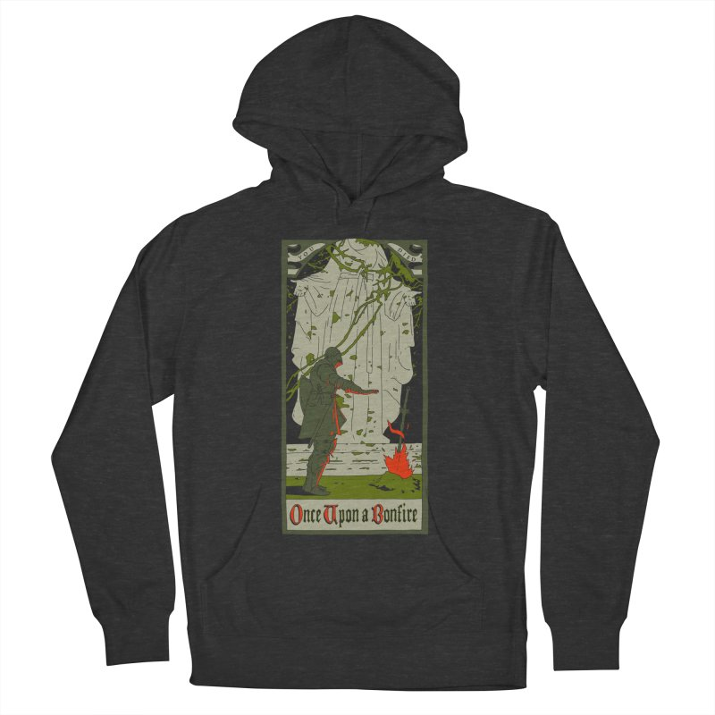 Once upon a bonfire Men's Pullover Hoody by mathiole