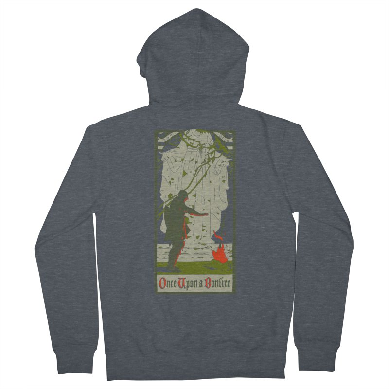 Once upon a bonfire Women's Zip-Up Hoody by mathiole