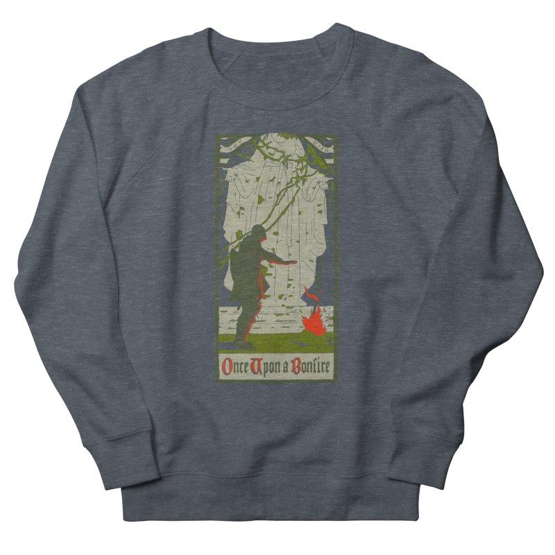 Once upon a bonfire Men's Sweatshirt by mathiole