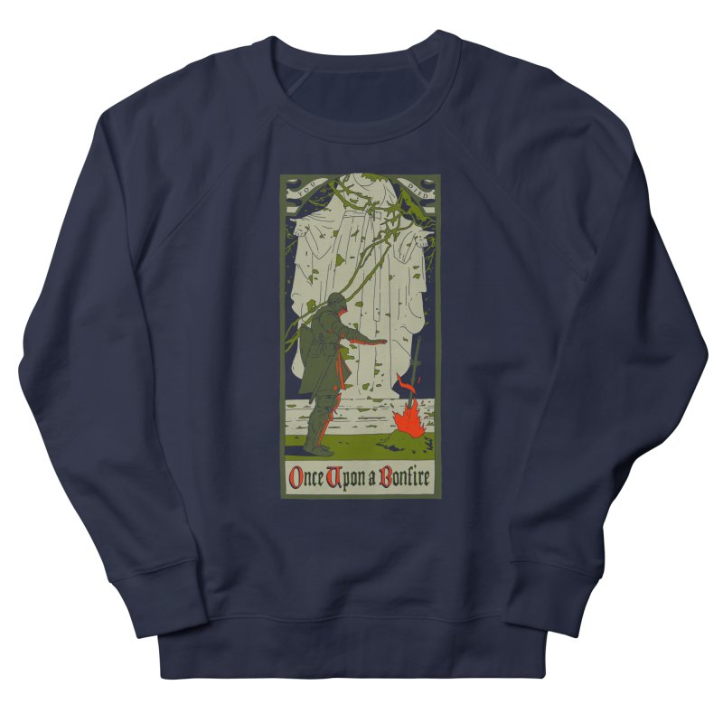 Once upon a bonfire Men's Sweatshirt by mathiole