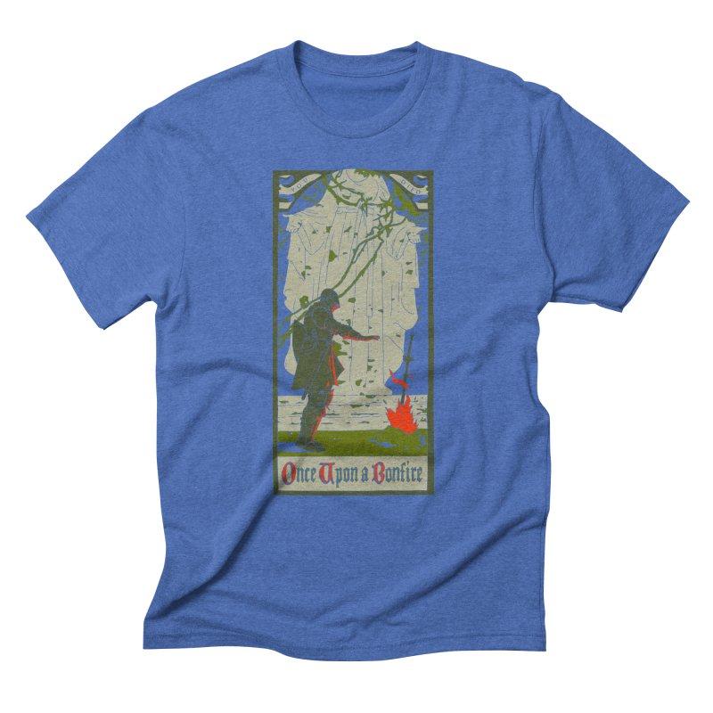 Once upon a bonfire Men's Triblend T-Shirt by mathiole