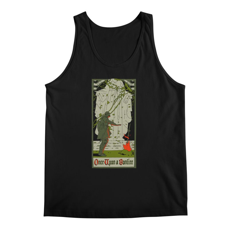 Once upon a bonfire Men's Tank by mathiole