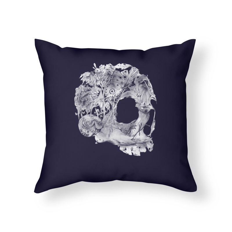 Natureza Morta Home Throw Pillow by mathiole