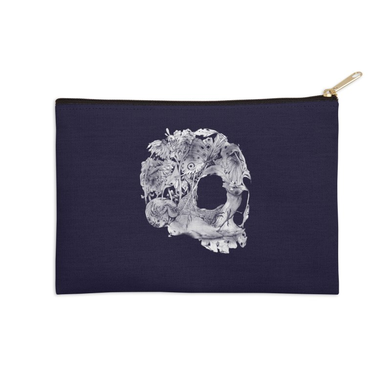 Natureza Morta Accessories Zip Pouch by mathiole