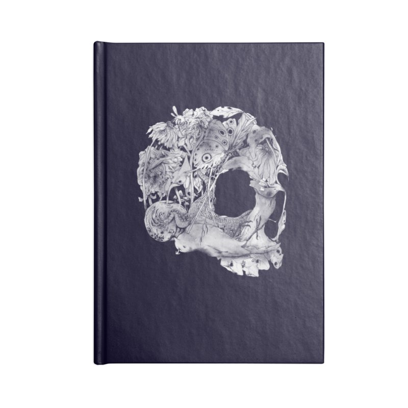Natureza Morta Accessories Lined Journal Notebook by mathiole