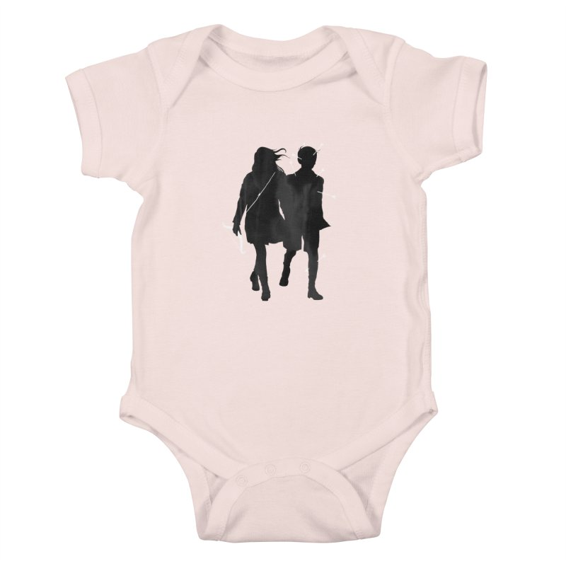 Dangerous Games Kids Baby Bodysuit by mathiole