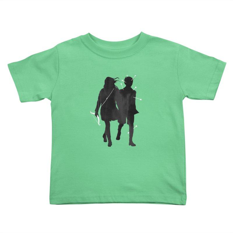 Dangerous Games Kids Toddler T-Shirt by mathiole