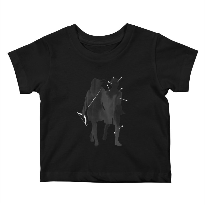 Dangerous Games Kids Baby T-Shirt by mathiole