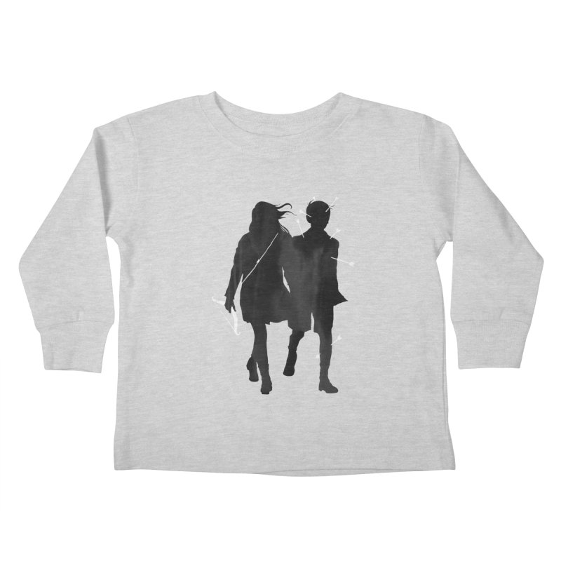 Dangerous Games Kids Toddler Longsleeve T-Shirt by mathiole