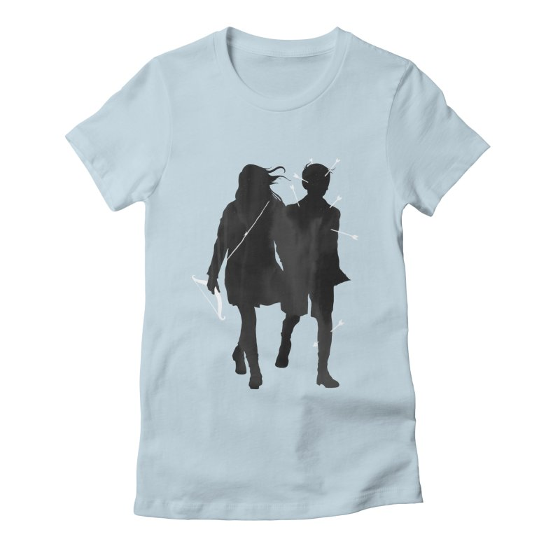 Dangerous Games Women's Fitted T-Shirt by mathiole