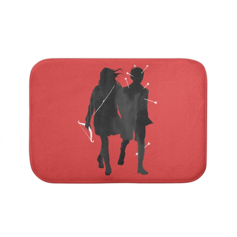 Dangerous Games Home Bath Mat by mathiole