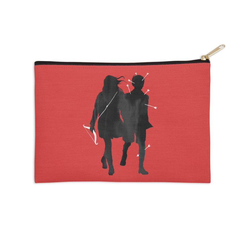 Dangerous Games Accessories Zip Pouch by mathiole