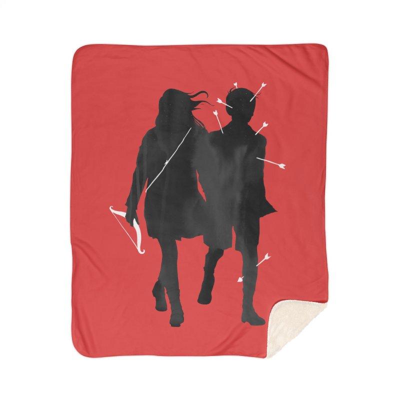 Dangerous Games Home Sherpa Blanket Blanket by mathiole
