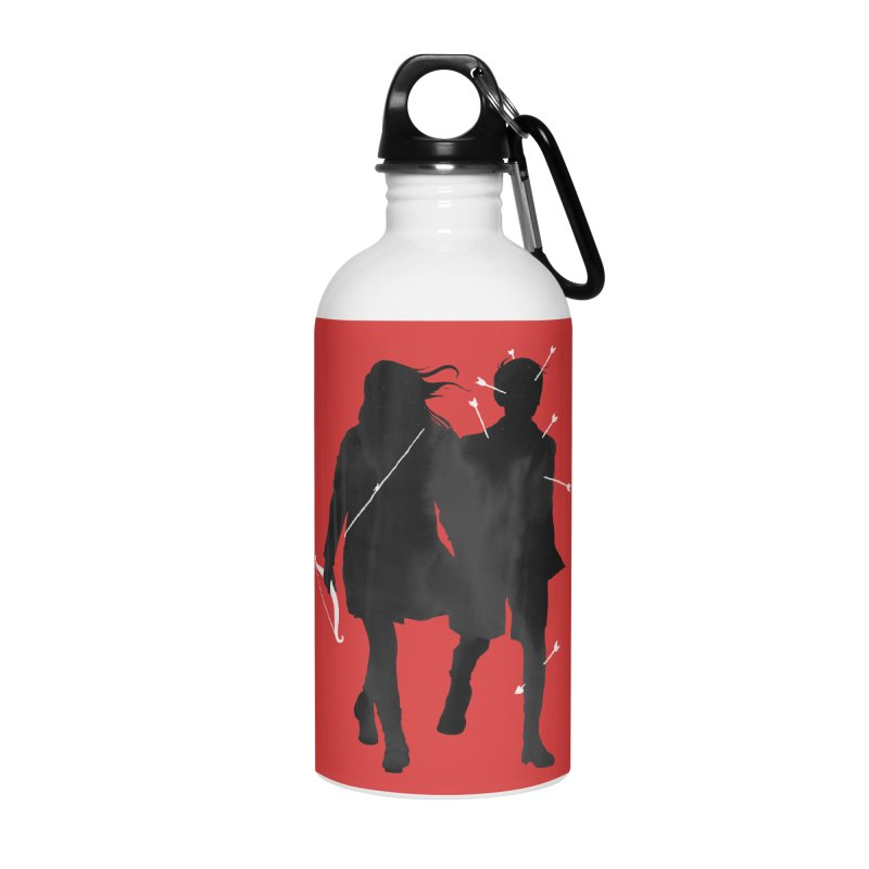 Dangerous Games Accessories Water Bottle by mathiole