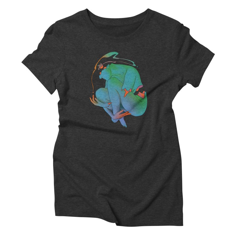 Incomplete Women's Triblend T-shirt by mathiole