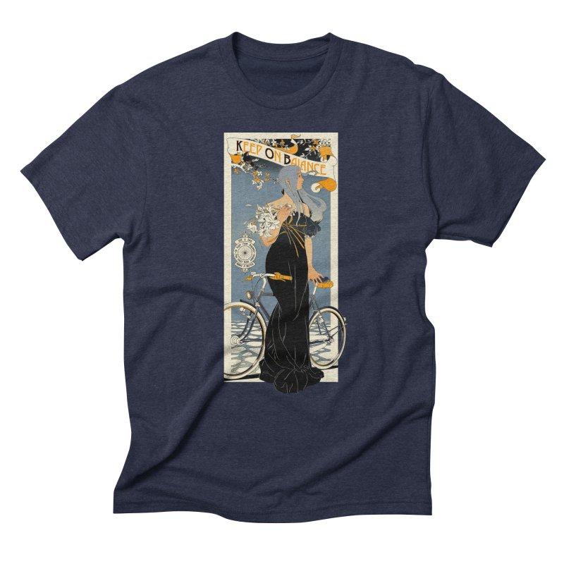 Keep on Balance Men's Triblend T-Shirt by mathiole