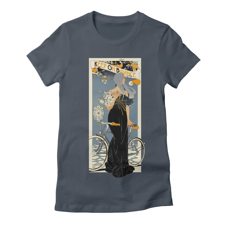 Keep on Balance Women's Fitted T-Shirt by mathiole
