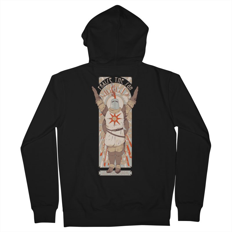 Praise the Sun Men's Zip-Up Hoody by mathiole
