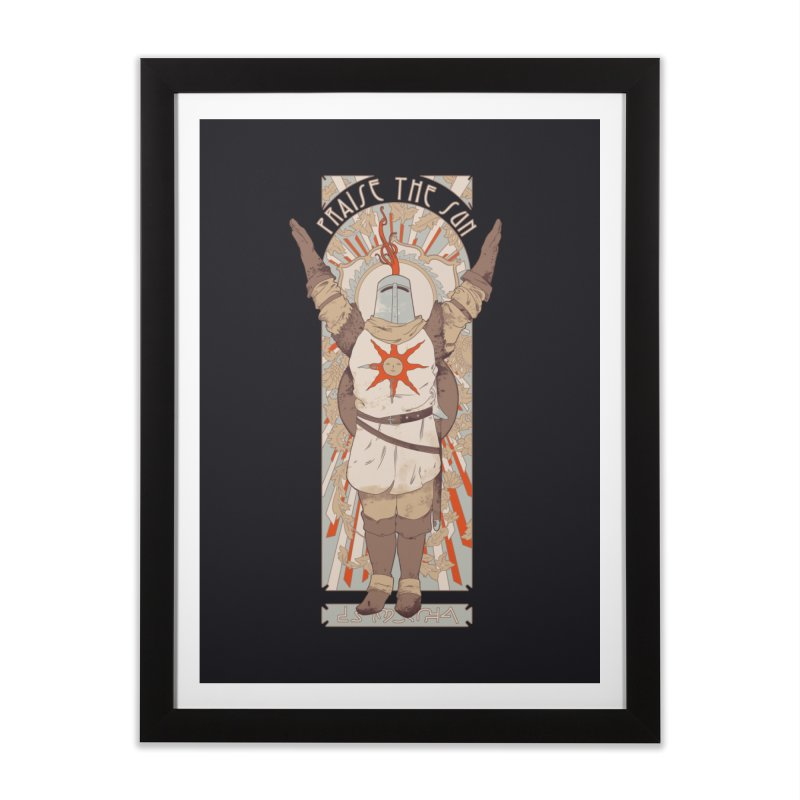 Praise the Sun Home Framed Fine Art Print by mathiole