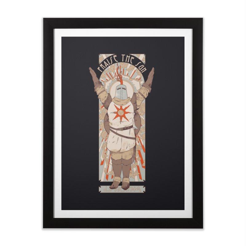Praise the Sun Home Framed Fine Art Print by mathiole