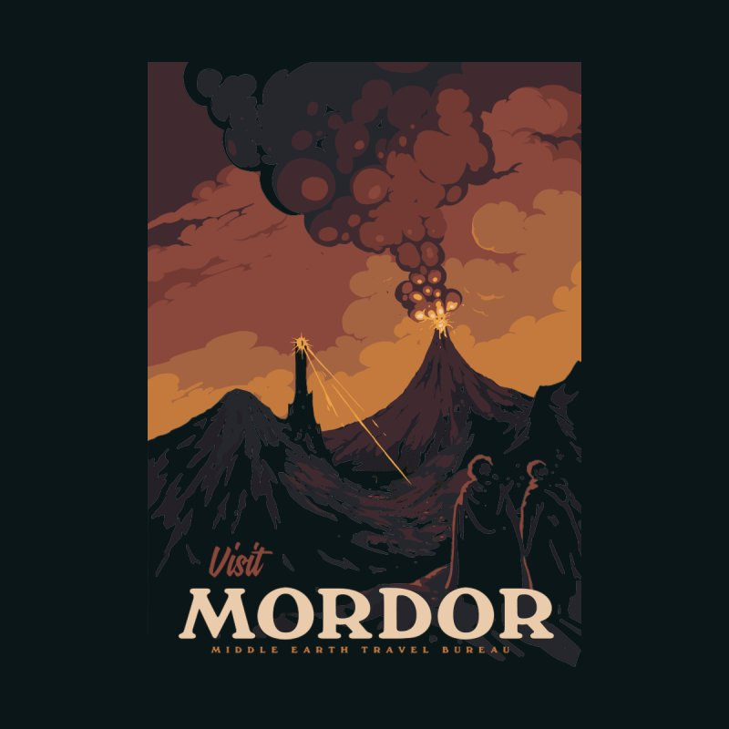 Visit Mordor None  by mathiole
