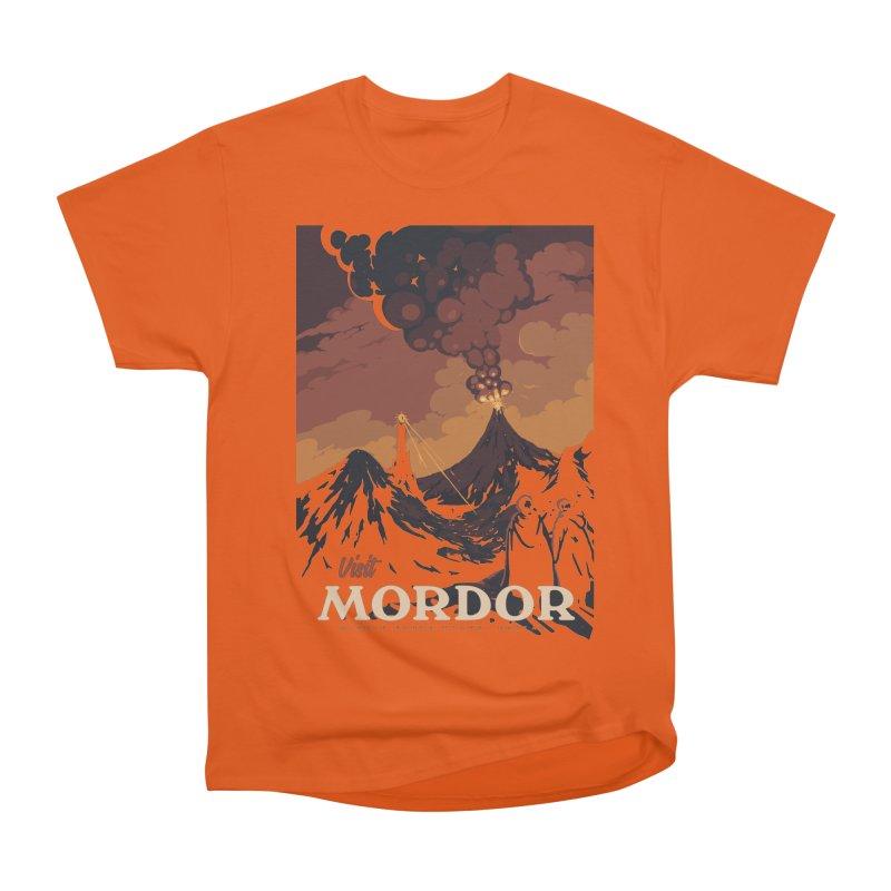 Visit Mordor Men's Heavyweight T-Shirt by mathiole
