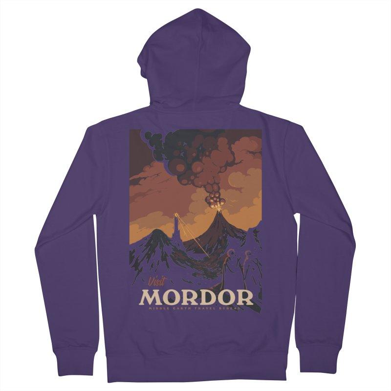 Visit Mordor Women's Zip-Up Hoody by mathiole