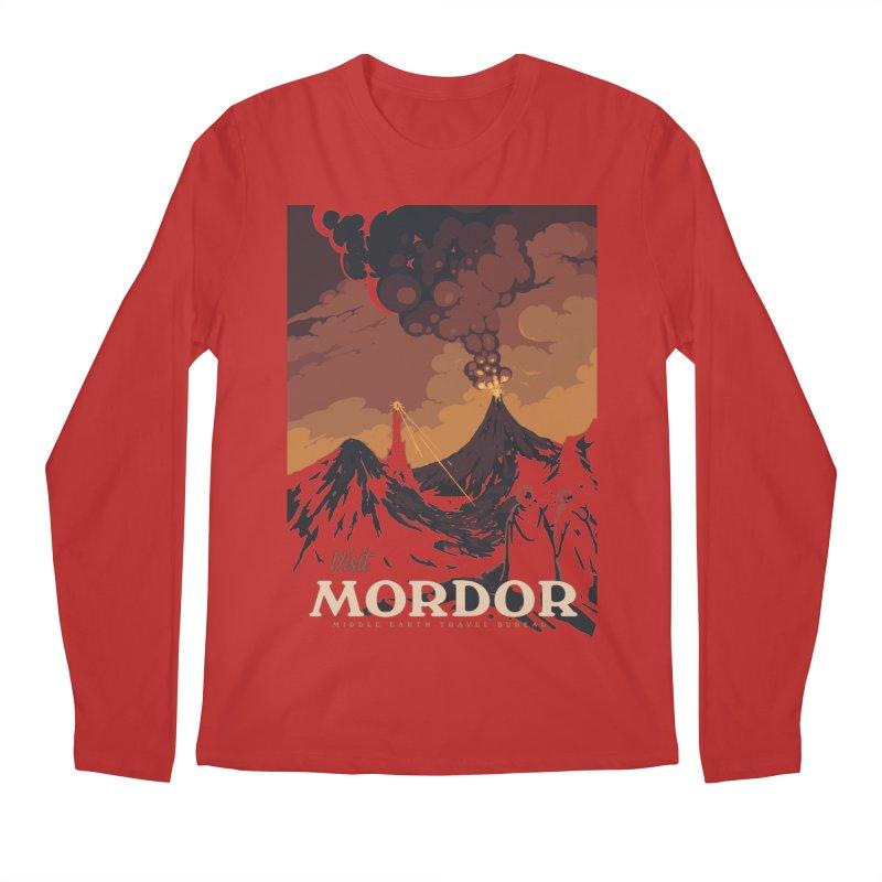 Visit Mordor Men's Longsleeve T-Shirt by mathiole
