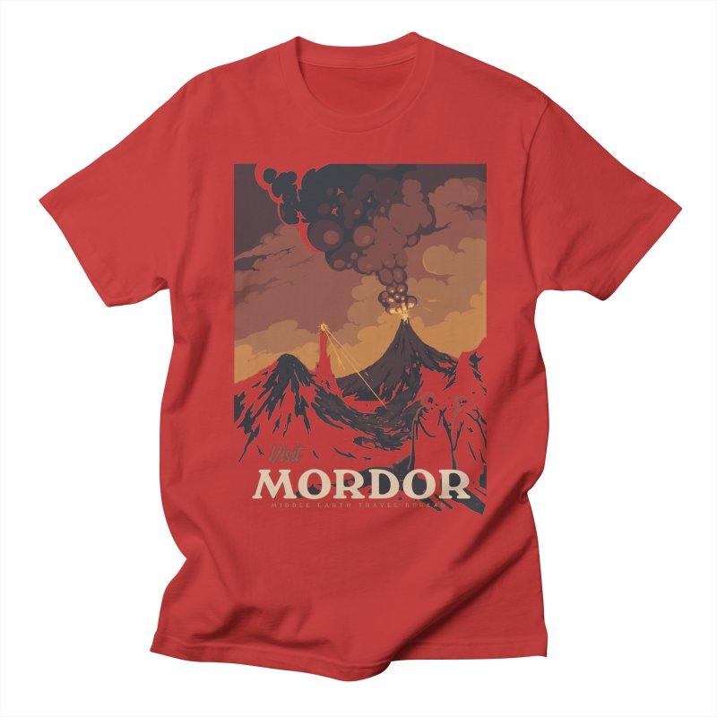 Visit Mordor Men's T-Shirt by mathiole