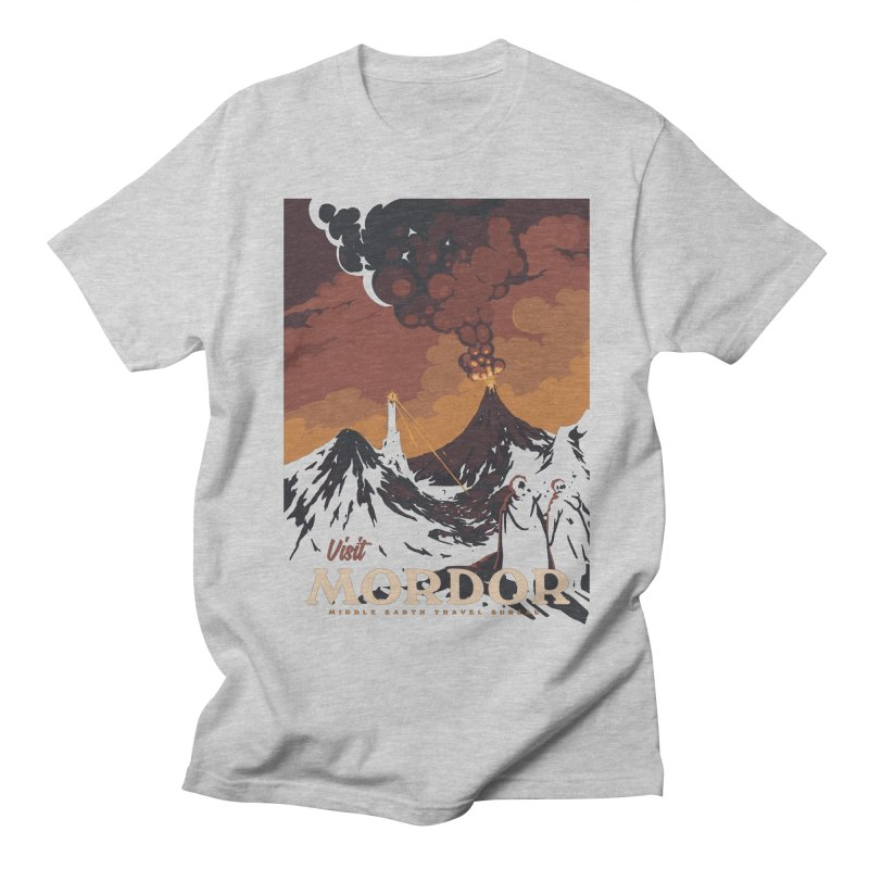 Visit Mordor Men's T-Shirt by mathiole