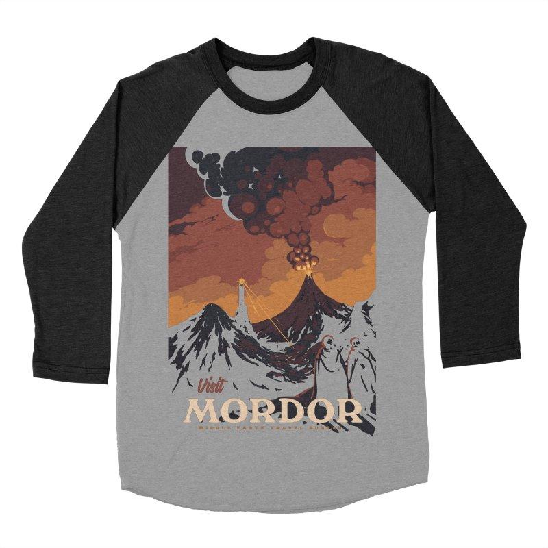 Visit Mordor Women's Baseball Triblend T-Shirt by mathiole