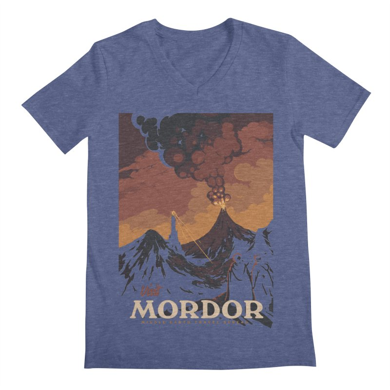 Visit Mordor Men's V-Neck by mathiole